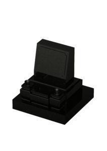洋型墓石黒
