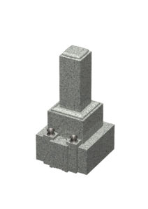 和型墓石白
