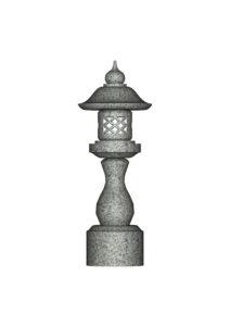 丸墓前灯篭