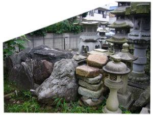 庭石 大 飛び石